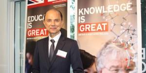 Jimmy Choo helps celebrate UK and its alumni