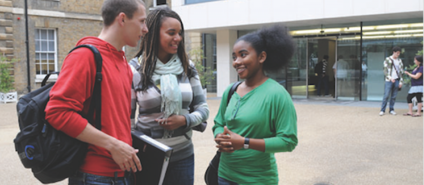 "International students feel that the UK ""excels in teaching and learning"". Photo: University of Roehampton"