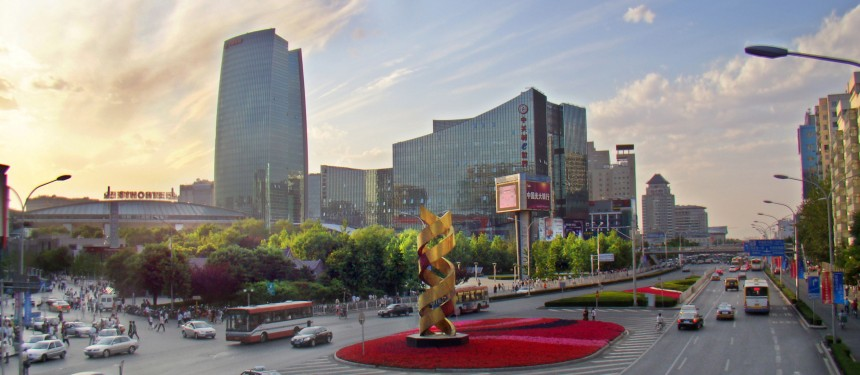 Starting on March 1, foreign students can be given short-term internships, post study word and can start businesses in Zhongguancun, a science and technology area in Beijing's Haidian district. Photo: Charlie fong