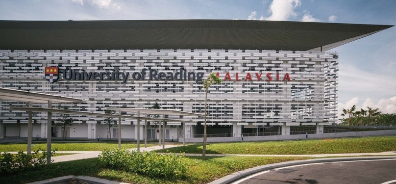 The campus started enrolling students this past September, but has the capacity to cater for 3,000. Photo: University of Reading Malaysia