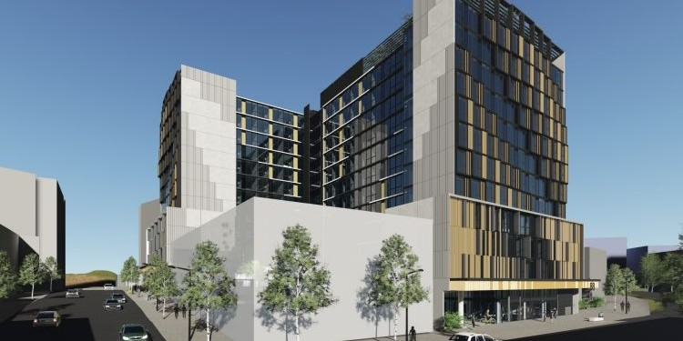 Artist's impression of the Blue Sky Alternative Investments/Goldman Sachs development in Melbourne's South Bank.