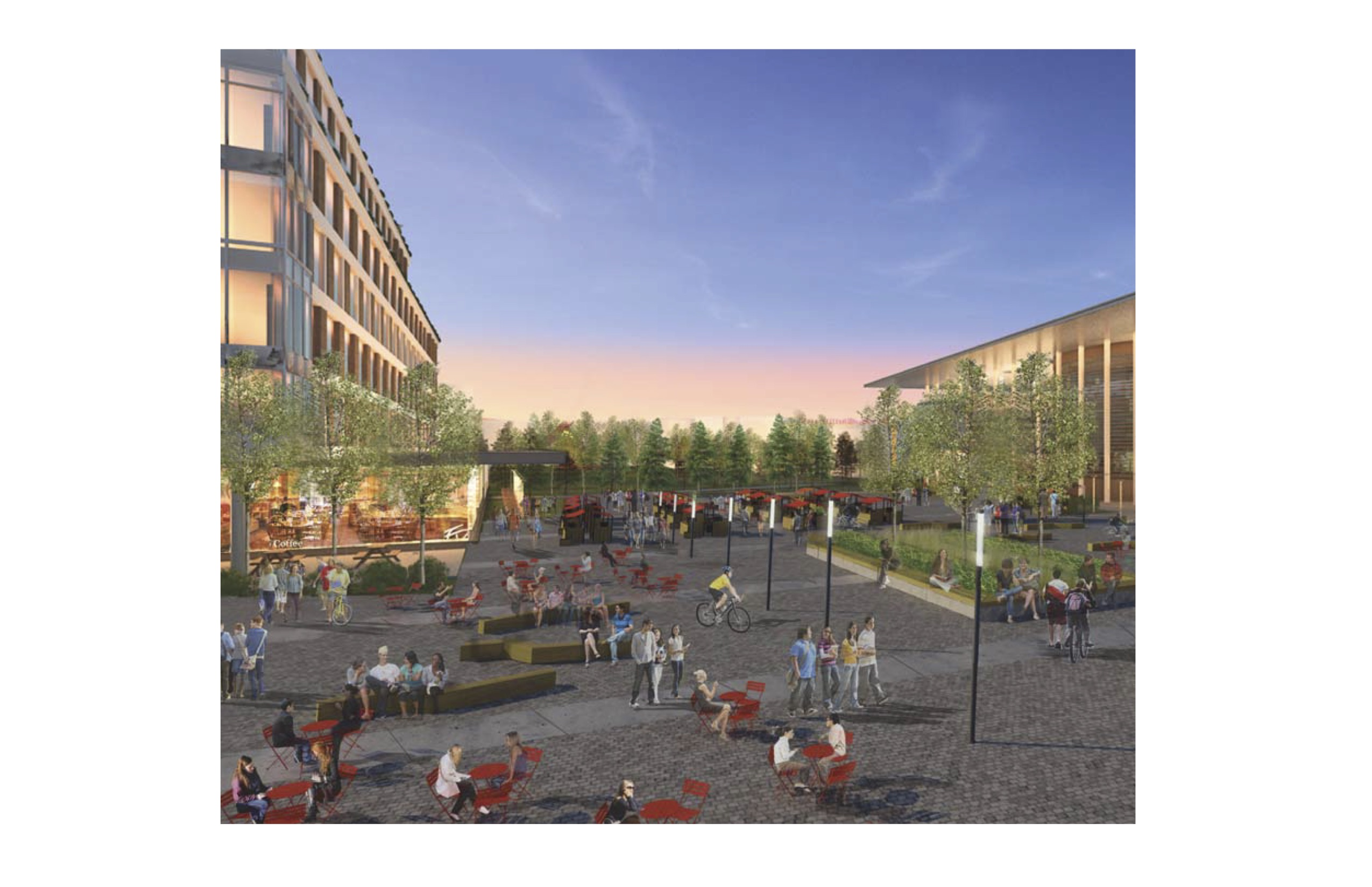 An artist rendering of the proposed project. Photo: TRU.