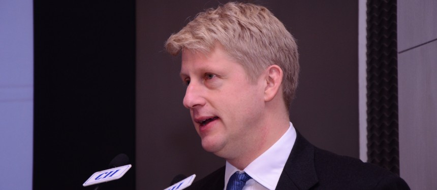 """""""Making it easier for high-quality challenger institutions to start offering their own degrees will help drive up teaching quality, boost the economy and extend aspiration and life chances for students from all backgrounds,"""" said Minister for Universities and Science Jo Johnson. Photo: Flickr/British High Commission, New Delhi."""
