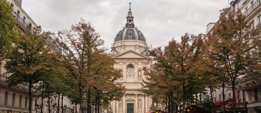Place de la Sorbonne. No name has yet been decided for the new university of arts, sciences & medicine, but it is expected to carry the global recognised brand, Sorbonne. Photo: Alan