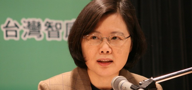 One of Tsai Ing-Wen's first actions was to drop criminal charges against a number of student protesters dating from the 2014 Sunflower Movement. Photo: David Reid