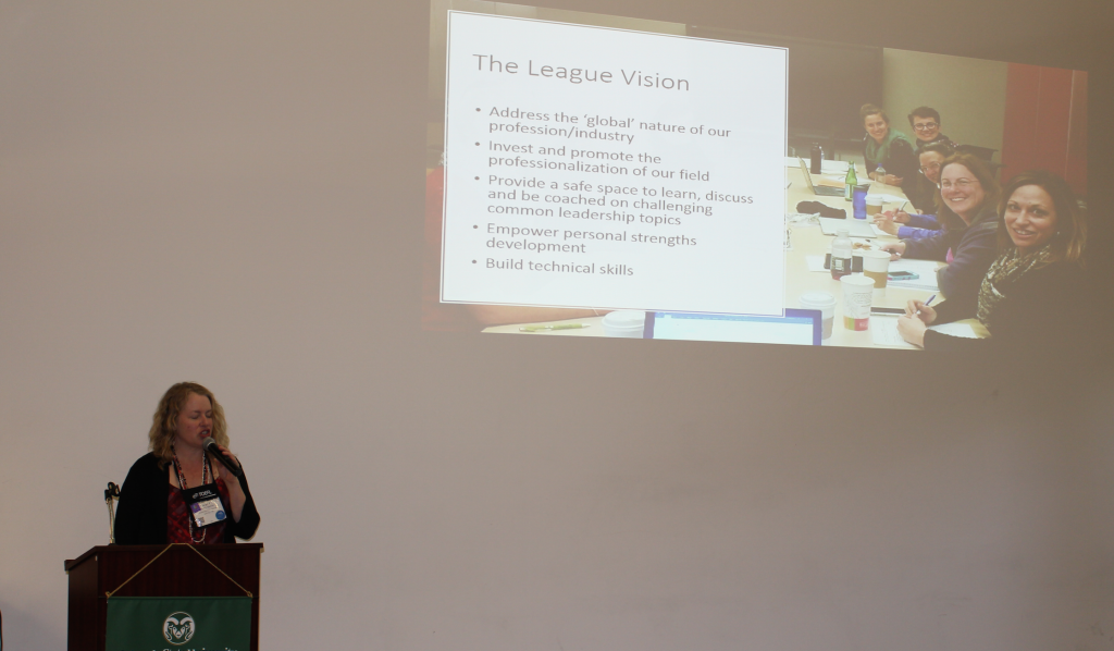 Sarah Spencer outlines the vision of the league