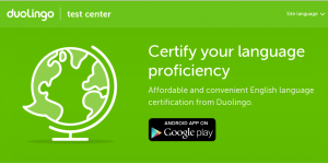 Duolingo develops English certification
