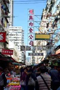 Mong Kok is the heart of Hong Kong's illicit document business, where dodgy certificates can be fairly easily located and bought. Photo: Milla Bath.