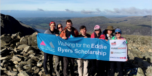 English UK team completes Three Peaks challenge