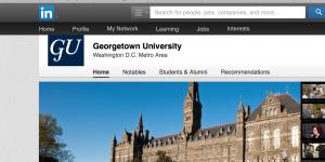 Georgetown ranked top for global alumni network