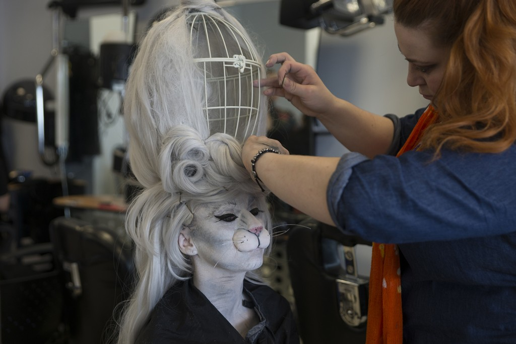 South Lanarkshire College has benefited from Erasmus+ to enable special effects make-up students to travel and study in Spain. Photo: SLC