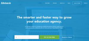 Edvisor's website