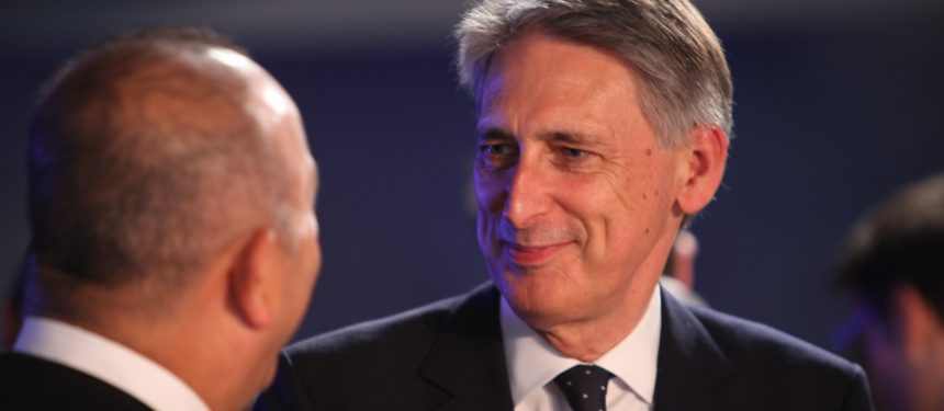 Philip Hammond, chancellor of the exchequer, has said British businesses and universities will have certain about future funding. Photo: Foreign & Commonwealth Office.