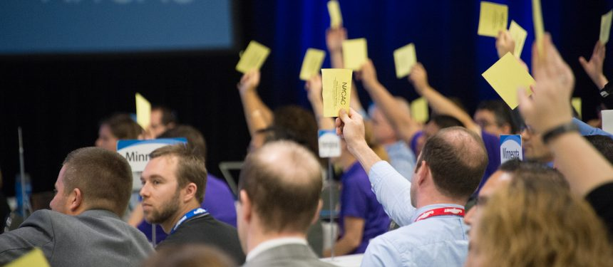NACAC's members voted overwhelmingly in favour of the latest amendments to the SPGP at the association's national conference over the weekend. Photo: Chuck Fazio Photography.