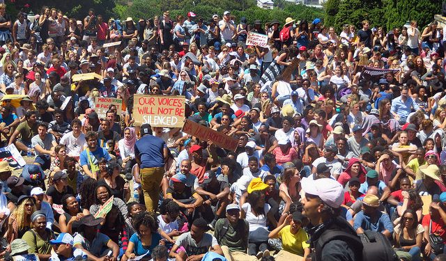 Image result for South Africa: violent protests, campus closures drive foreign students away