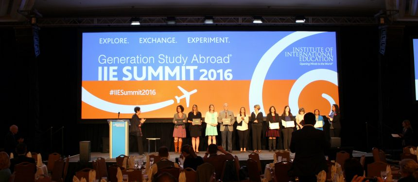 Generation Study Abroad commitment partners at IIE Summit 2016