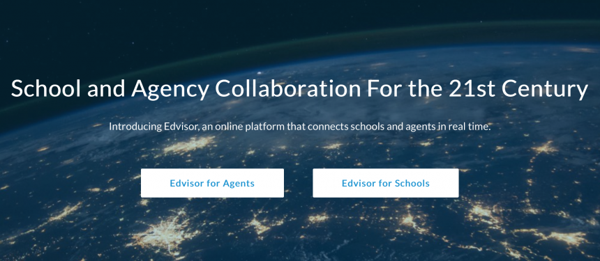 Schools and agencies use Edvisor as a booking platform that connects them