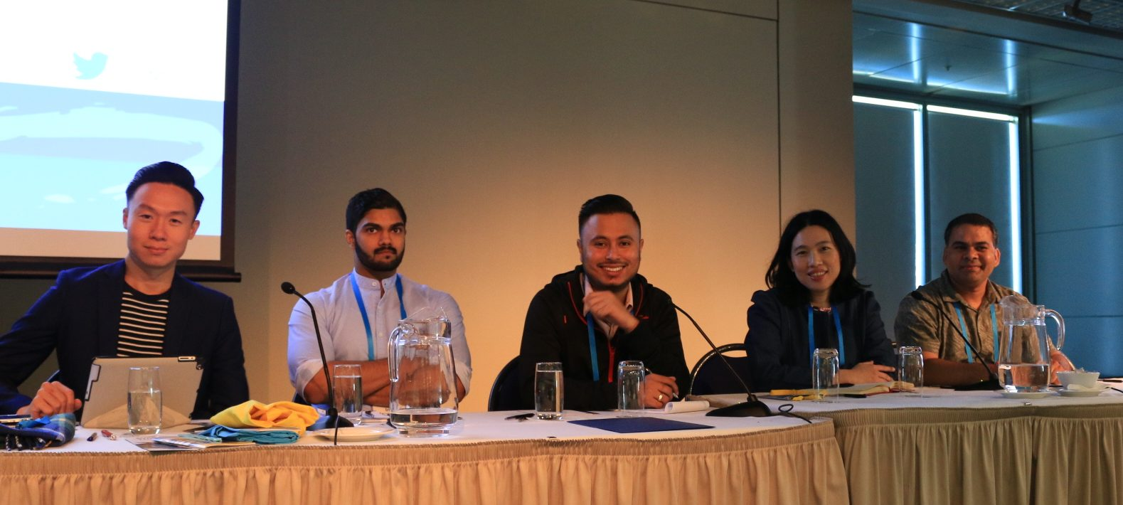International student panel at ISANA International Education Association