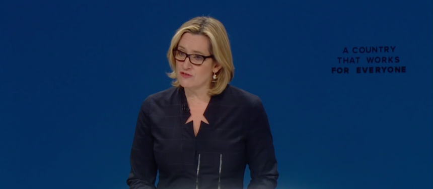 Home Secretary Amber Rudd on international students at CPC