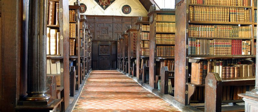 Merton College Library, Oxford University