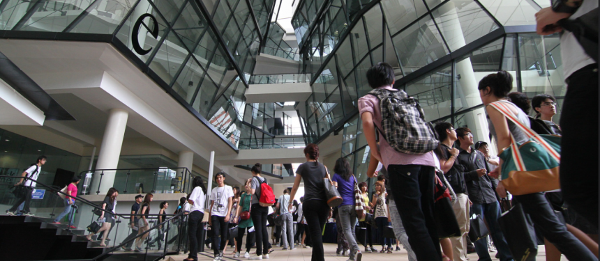 Singapore's education industry includes private and public sector such as MNally campus here at LaSalle
