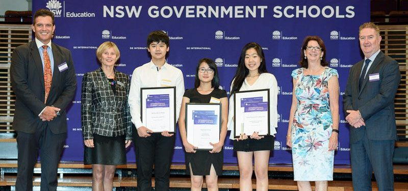 NSW Department of Education International Student Awards