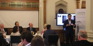 London higher education group goes global