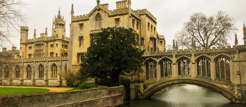 The Universities of Oxford and Cambridge claimed the top two spots in the rankings this year.