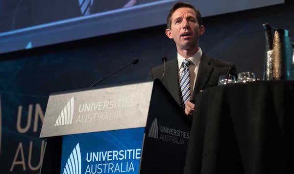 Education and Training minister in Australia Simon Birmingham rebuffed Hill's accusation.