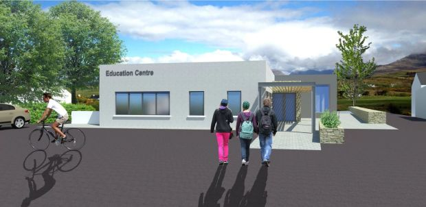 An artist's impression of how the completed Connemara Education Centre will look.