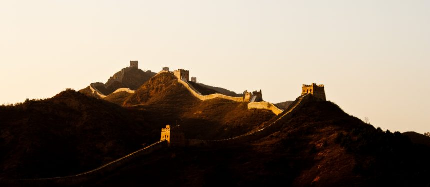 The Great Wall of China once defended against foreign powers. Could students signal a new way of moving power?