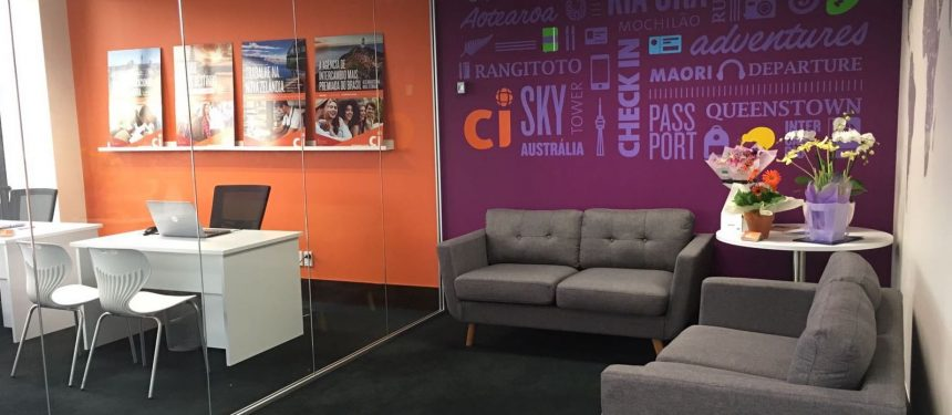 CI's new walk-in office in New Zealand. Photo: CI