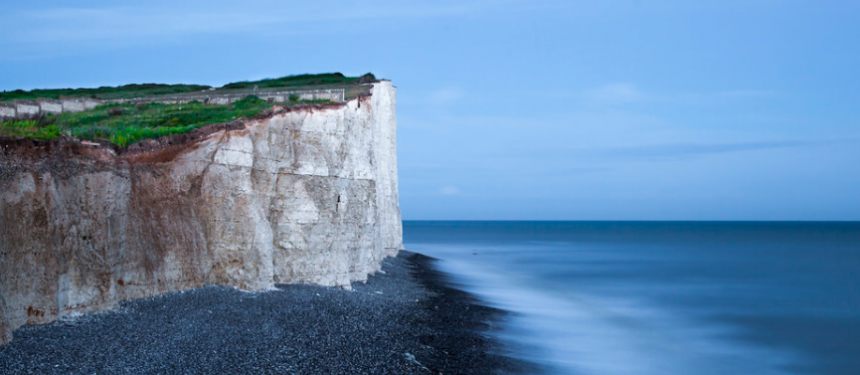 Seven Sisters cliffs - student safety