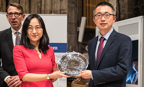 University of Sheffield's Confucius Institute honoured for China collaboration at Horasis awards