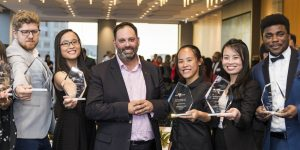 Victoria celebrates fifth annual int'l education awards