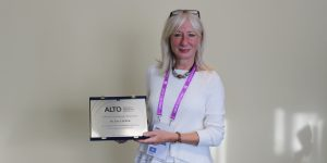 CEO of CUBO receives ALTO honorary award