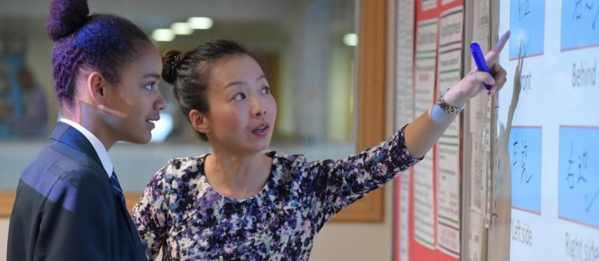 The Mandarin Excellence Programme will see at least 5,000 school pupils in the UK on track to fluency in Mandarin Chinese by 2020. Photo: The British Council