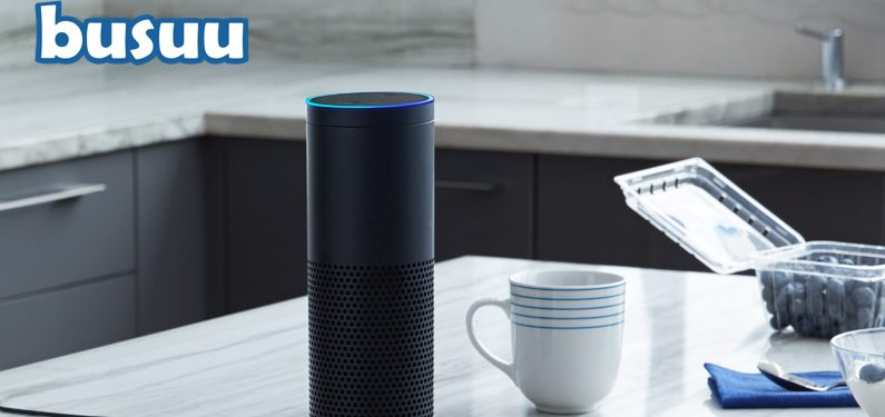 Online and mobile language learning developer Busuu has created a bot for smart speakers. Photo: Busuu