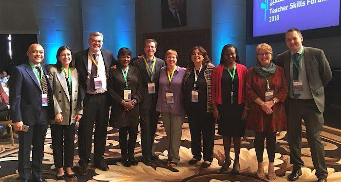 The IB team at the fourth Teacher Skills Forum. Photo: IB