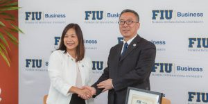FIU partners with Chinese business school