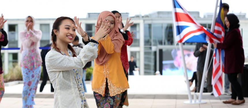 A series of global events have been taking place to mark the international impact of the University of Nottingham Malaysia. Photo: University of Nottingham.