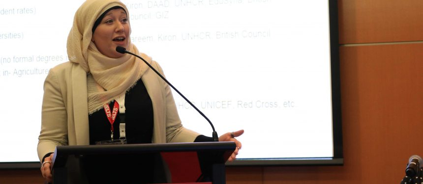 Allison Chruch says more work needs to be done to integrate work with study for refugees. Photo: The PIE