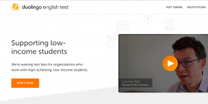 Duolingo launches accessible English test