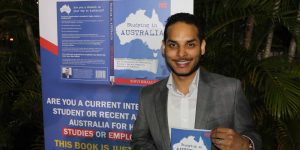 International students' self-help book launched