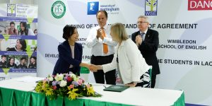 WSE opens first British ELT centre in Laos