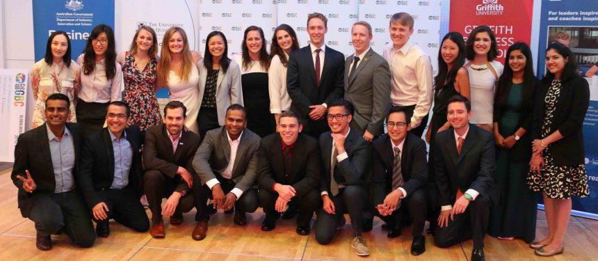 Finalists from the 2018 Global Business Challenge. Photo: The PIE