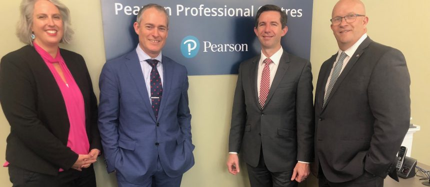 Pearson opens two new test centres in Australia