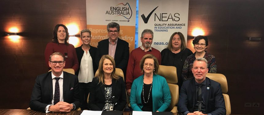 The MoU will see both organisations increase their work promoting Australian ELT. Photo: EA