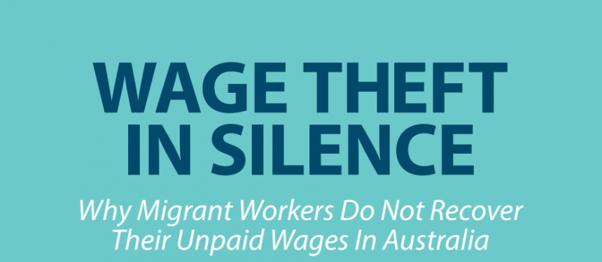 1 in ten international students in Australia take action to recoup lost wages. Photo: MWJI