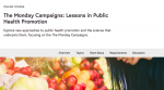 """""""Mondays"""" online public health course launched"""